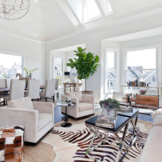 Contemporary Living Room by MACK