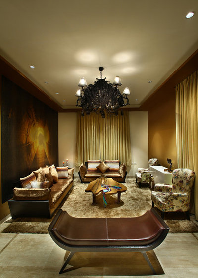Eclectic Living Room by Group DCA