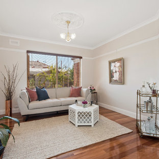 This is an example of a traditional living room in Perth.