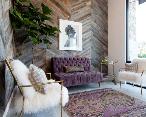 Inspiration For A Contemporary Formal Living Room Remodel In Los Angeles