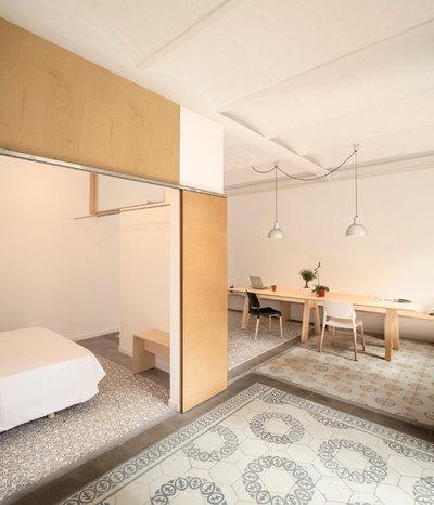 Modern Wohnbereich by Adrian Elizalde Arquitectura