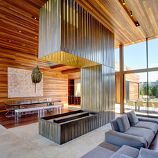 Contemporary Living Room by Bates Masi Architects LLC
