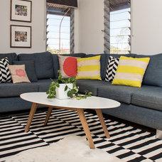 Contemporary Living Room by Sam Davison Interiors