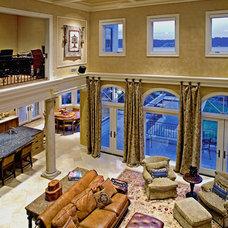 Mediterranean Living Room by Gelotte Hommas Architecture
