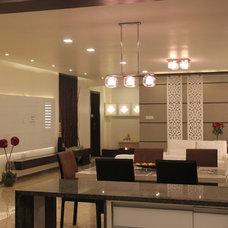 Contemporary Living Room by Mitesh Antala