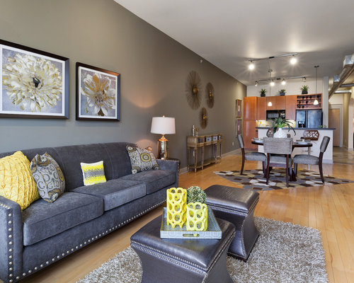 Grey Feature Wall Home Design Ideas Renovations Amp Photos
