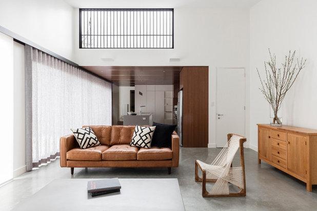 コンテンポラリー リビング by Source Architects
