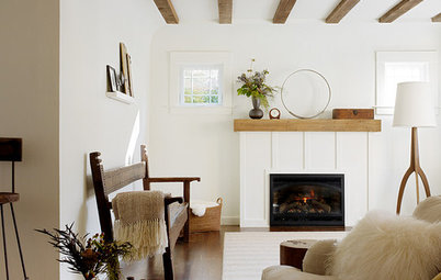 Houzz Tour: Global Decor Warms a Spanish Revival Bungalow