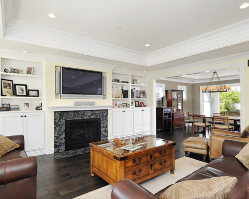 Tray Ceiling Living Room Ideas & Photos | Houzz