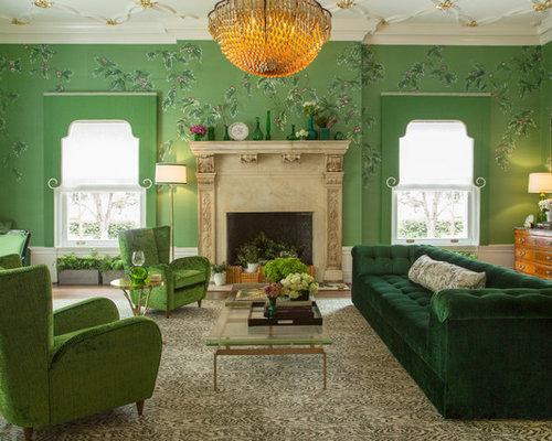 Klassische wohnzimmer ideen design bilder houzz - Klassische wohnzimmer ...