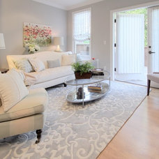 Contemporary Living Room by Denise Maloney Interior Design