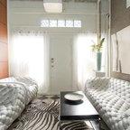 Modern Glam Modern Living Room Atlanta By Burns