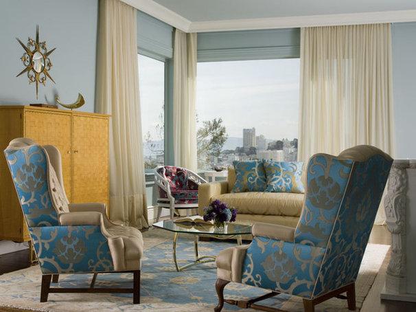 Eclectic Living Room by Coddington Design
