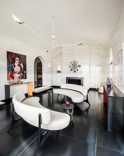 Contemporary Living Room San Francisco Decorator Showcase