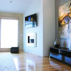 Modern Living Room by Soelberg Industries