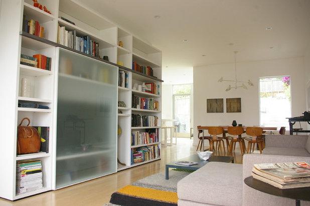 Modern Living Room by designpad architecture  - Patrick Perez Architect