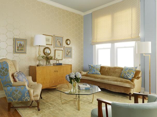 Contemporary Living Room by Melanie Coddington