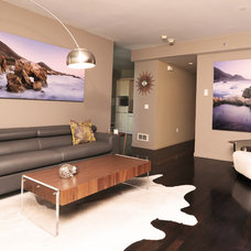 Contemporary Living Room by A.L. Interiors