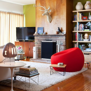 Living room - eclectic living room idea in San Francisco