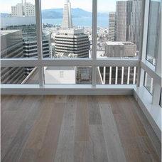 Modern Living Room by Amber Flooring