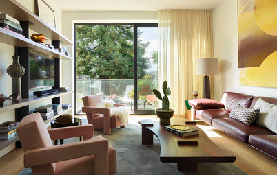 Houzz Tour: 'Interior Surrealism' in a San Francisco Row House