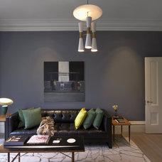 Contemporary Living Room by Sara Story Design