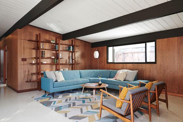 Midcentury Living Room by Urbanism Designs
