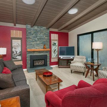 San Lorenzo Asian-Inspired Living room