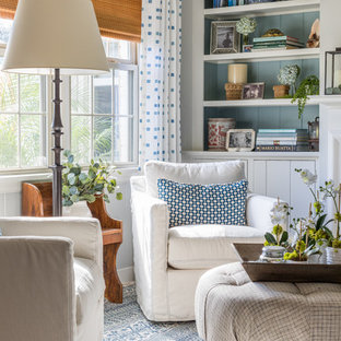 75 Beautiful Farmhouse Living Room Pictures Ideas December 2020 Houzz