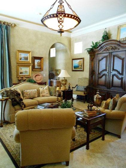 Mediterranean Living Room by Grand Designs