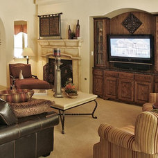 Traditional Living Room by David Weekley Homes