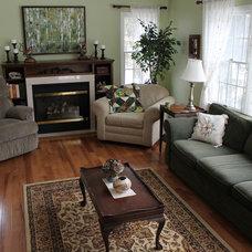 Contemporary Living Room by Jack Calderone