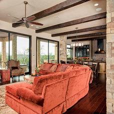 Traditional Living Room by Progressive Solutions / Renaissance Bronze Windows
