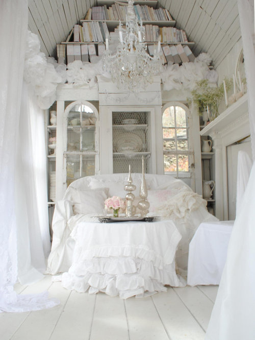 shabby chic meets glamour home design ideas pictures remodel and decor. Black Bedroom Furniture Sets. Home Design Ideas