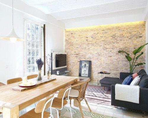 Piastrelle per pareti soggiorno good come scegliere colore pareti