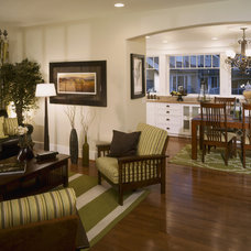 Craftsman Family Room by RRM Design Group