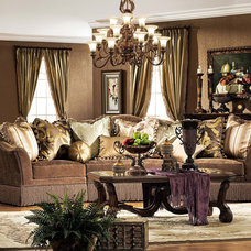 Traditional Living Room by Savannah Collections