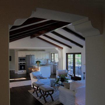 Santa Barbara Spanish Home with Open Concept Floorplan