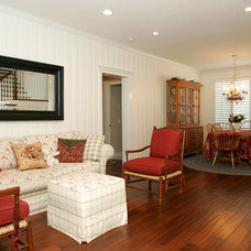 Traditional Living Room by Custom Design & Construction