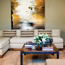 Contemporary Living Room by markdesign, llc