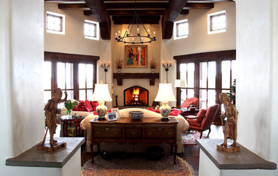 Houzz Tour: East Meets Southwest in New Mexico Home
