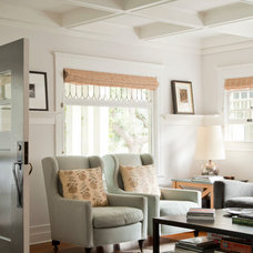 Craftsman Living Room by Evens Architects