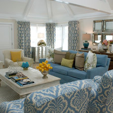traditional living room by Carolyn Greco [Interior] Design