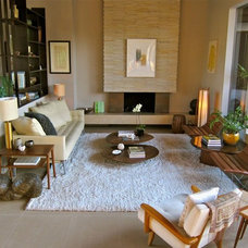 Modern Living Room by Natalie Epstein Design