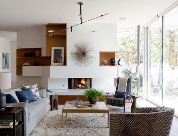 Moderne Salon by DISC Interiors