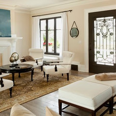 Mediterranean Living Room by Sinclair Associates Architects