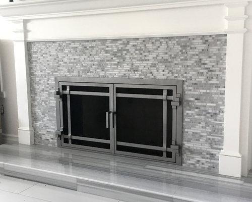 Ams Fireplace Doors Modern Designs