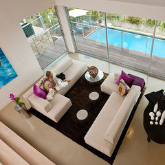 contemporary living room by Lori Smyth Design