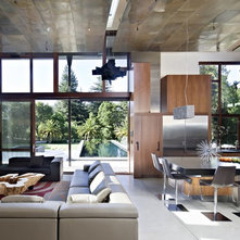 Contemporary Living Room by WA Design Architects
