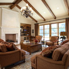 Traditional Living Room by Culbertson Durst Interiors